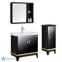 浴室柜(泰国橡木)